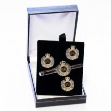 Royal Engineers - Cufflinks, Tie Slide or Boxed Set from